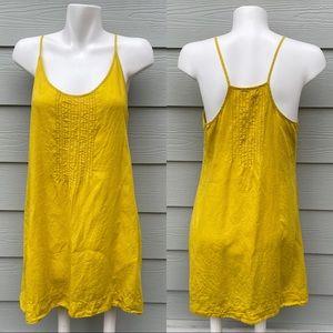 Eileen Fisher Mustard Yellow Dress